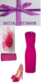 Mangenta Dress...special
