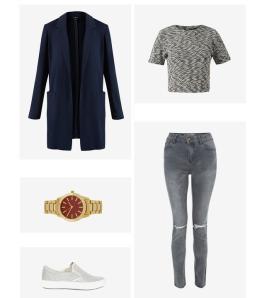 Keep in neutral in grey and black wardrobe basics