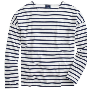 marine stripped  tee