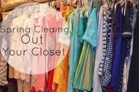 spring clean closet 1