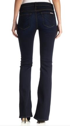 Hudson bootcut petite jeans