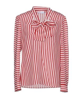 red valentino silk blouse